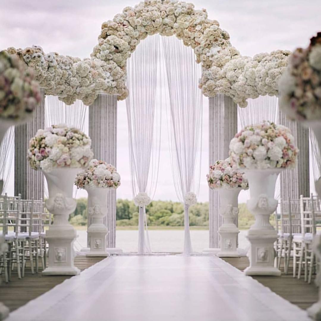 Wedding decorations for church december 2018  Likes  Comments  Pnina Tornai pninatornai on Instagram