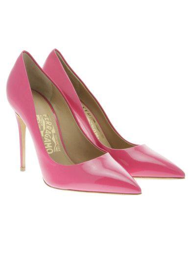 "SALVATORE FERRAGAMO ""FIORE"" 105mm Patent Pump. #salvatoreferragamo #shoes #fiore-105mm-patent-pump"
