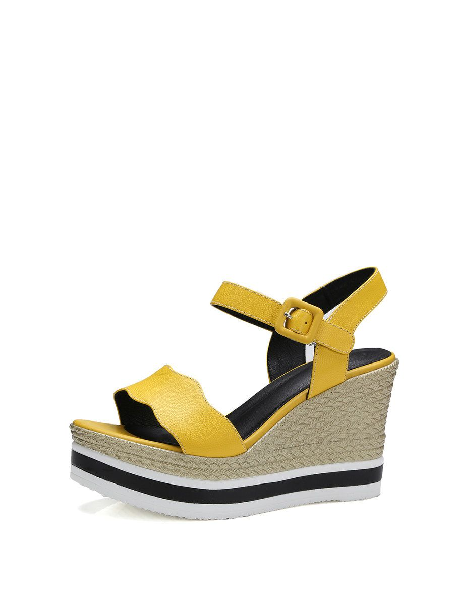 Adorewe stylewe sandalsdesigner hongtongbolu buckle dress