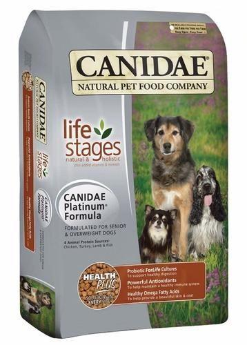 Canidae Life Stages Platinum Senior Diet Dog Food 5 Lbs Dog Food