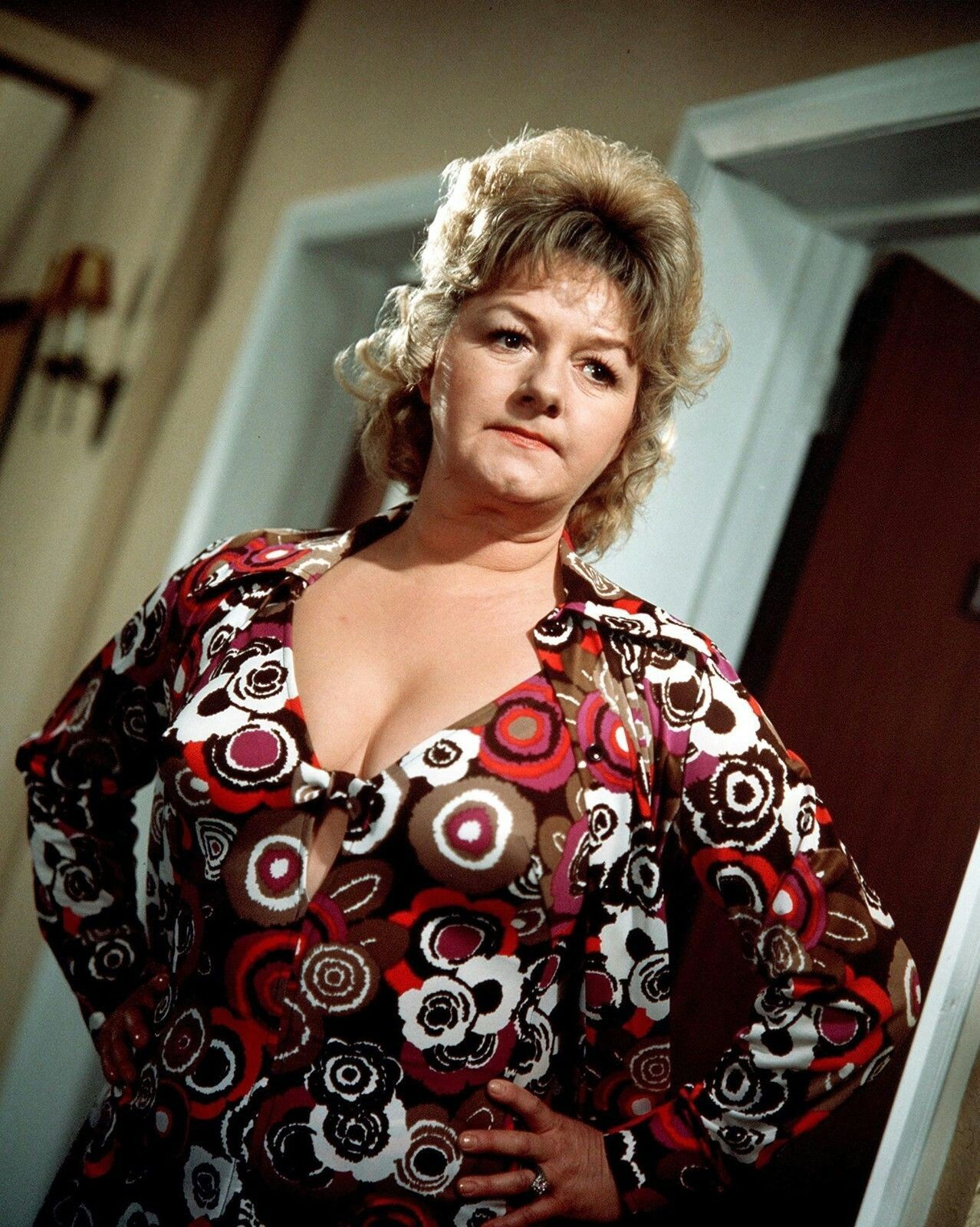 Joan Simms in one of the Carry On films
