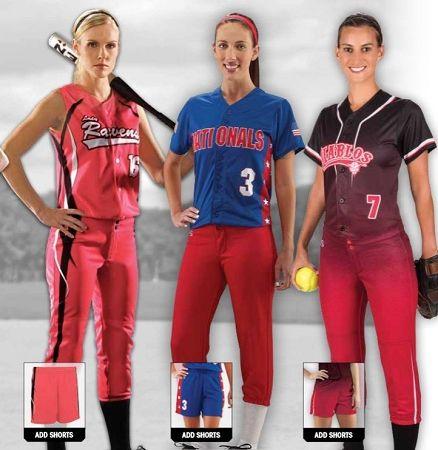 Womens Softball Uniform 49