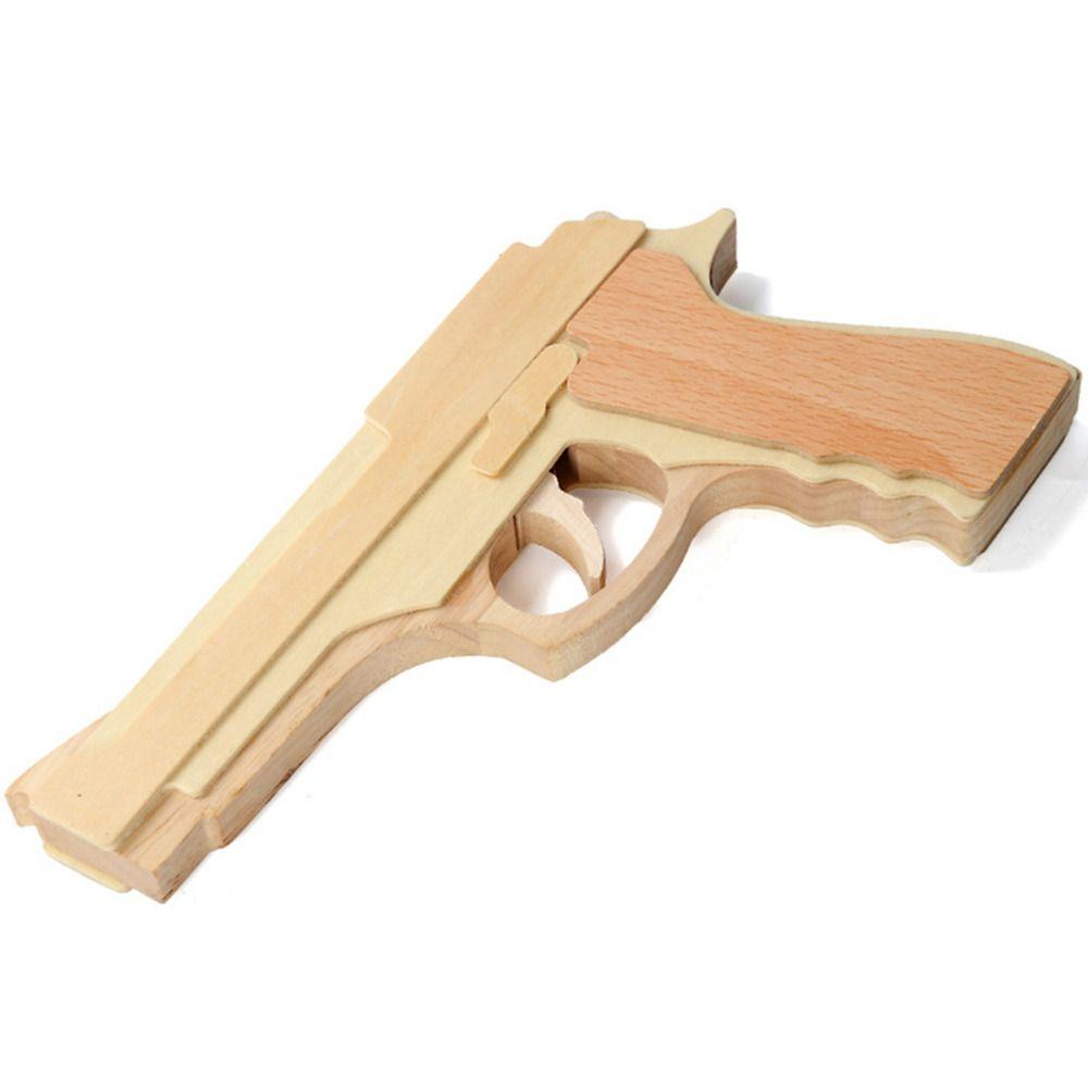 Картинка деревянного пистолета