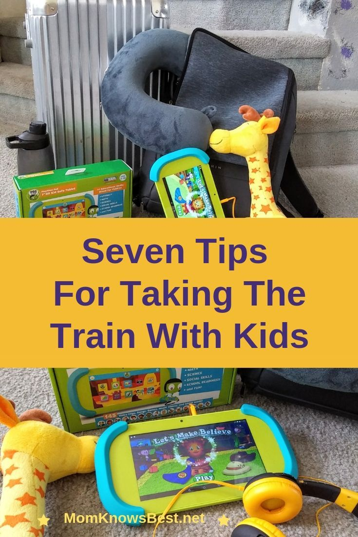 Seven tips for taking the amtrak train with kids amtrak