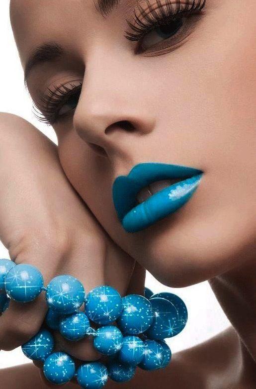 Turquoise Lip
