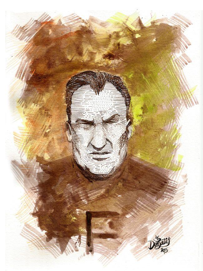 Platko - watercolor & ink