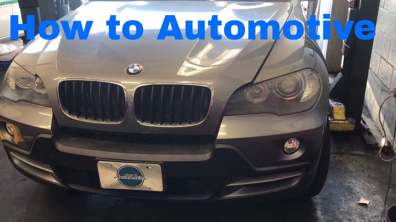 How To Replace The Electric Water Pump And Thermostat On A 2006 2013 Bmw Electric Water Pump Water Pumps Bmw