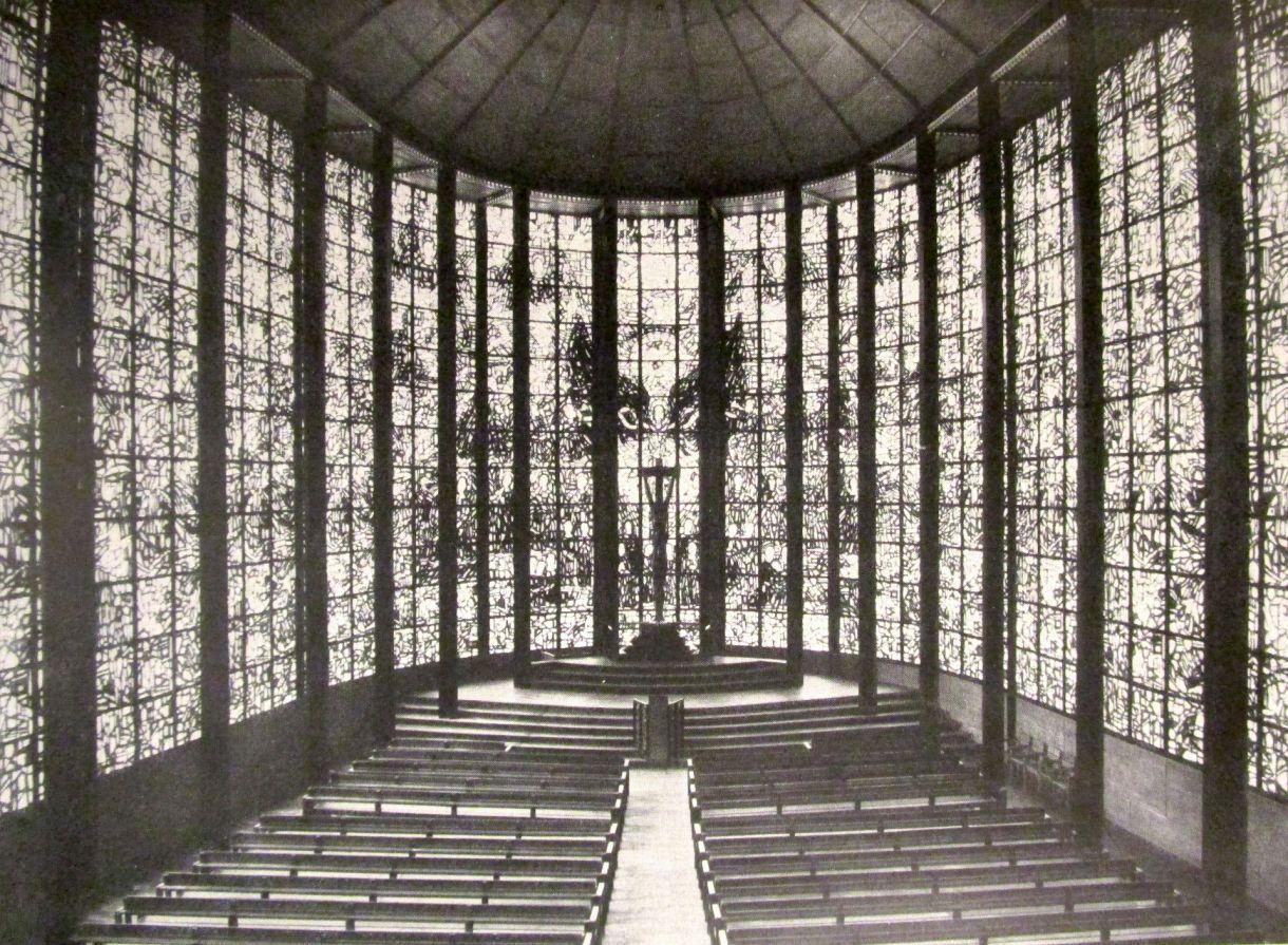 Innenarchitektur Tu Darmstadt stahlkirche köln otto bartning archiv tu darmstadt arch inspo