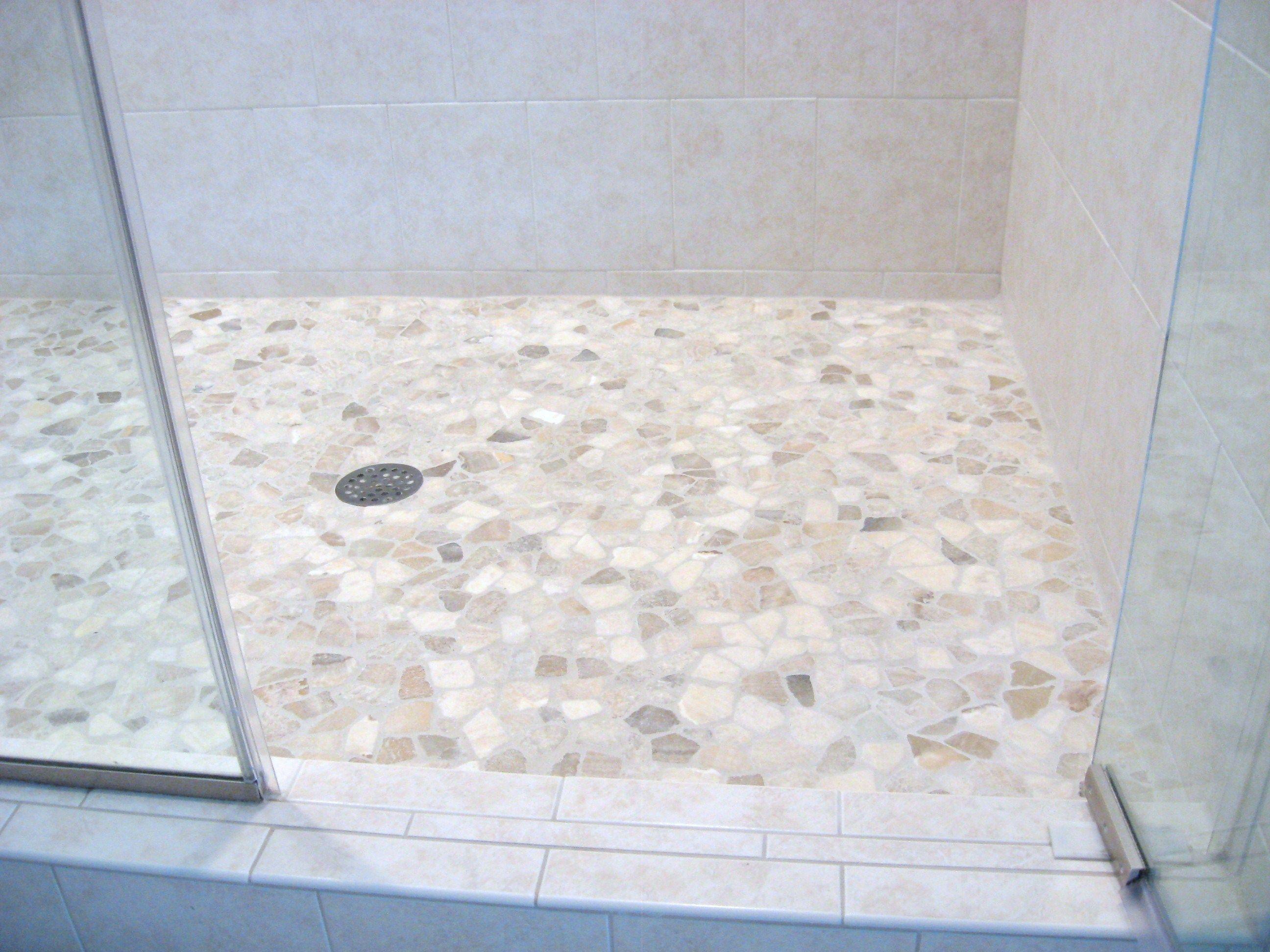 Mixed Quartz Mosaic Tile Mosaic Shower Tile Shower Pan Tile