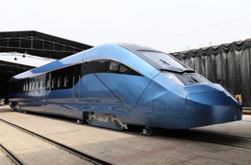 Korail unveils EMU-250 mock-up
