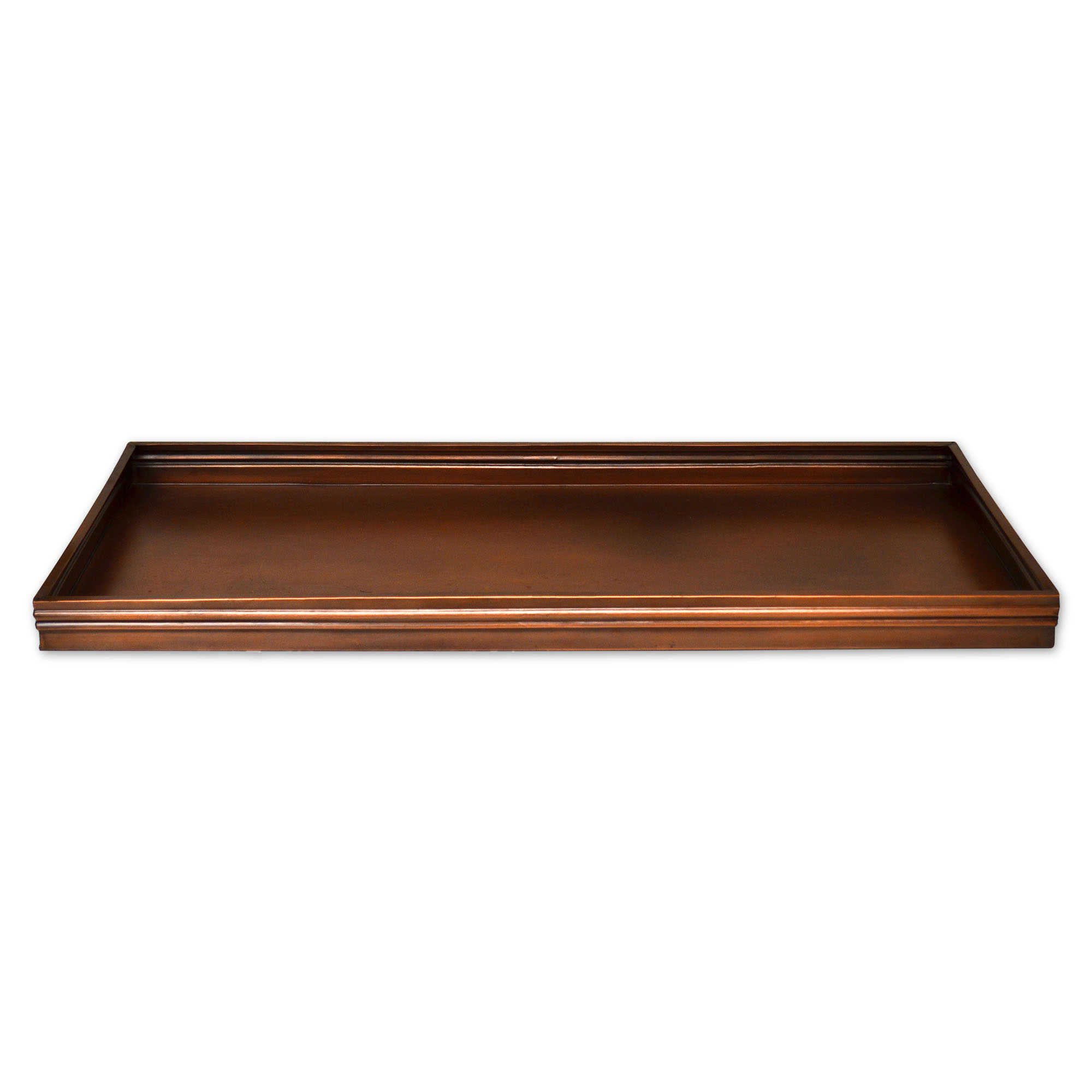 34 Inch X 14 Inch Solid Copper Boot Tray Boot Tray Copper