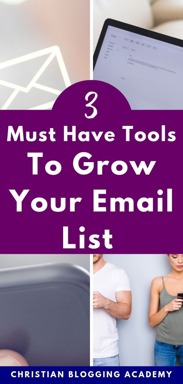 Haven't Started Building Your Email Listing? You Need These 3 Tools First