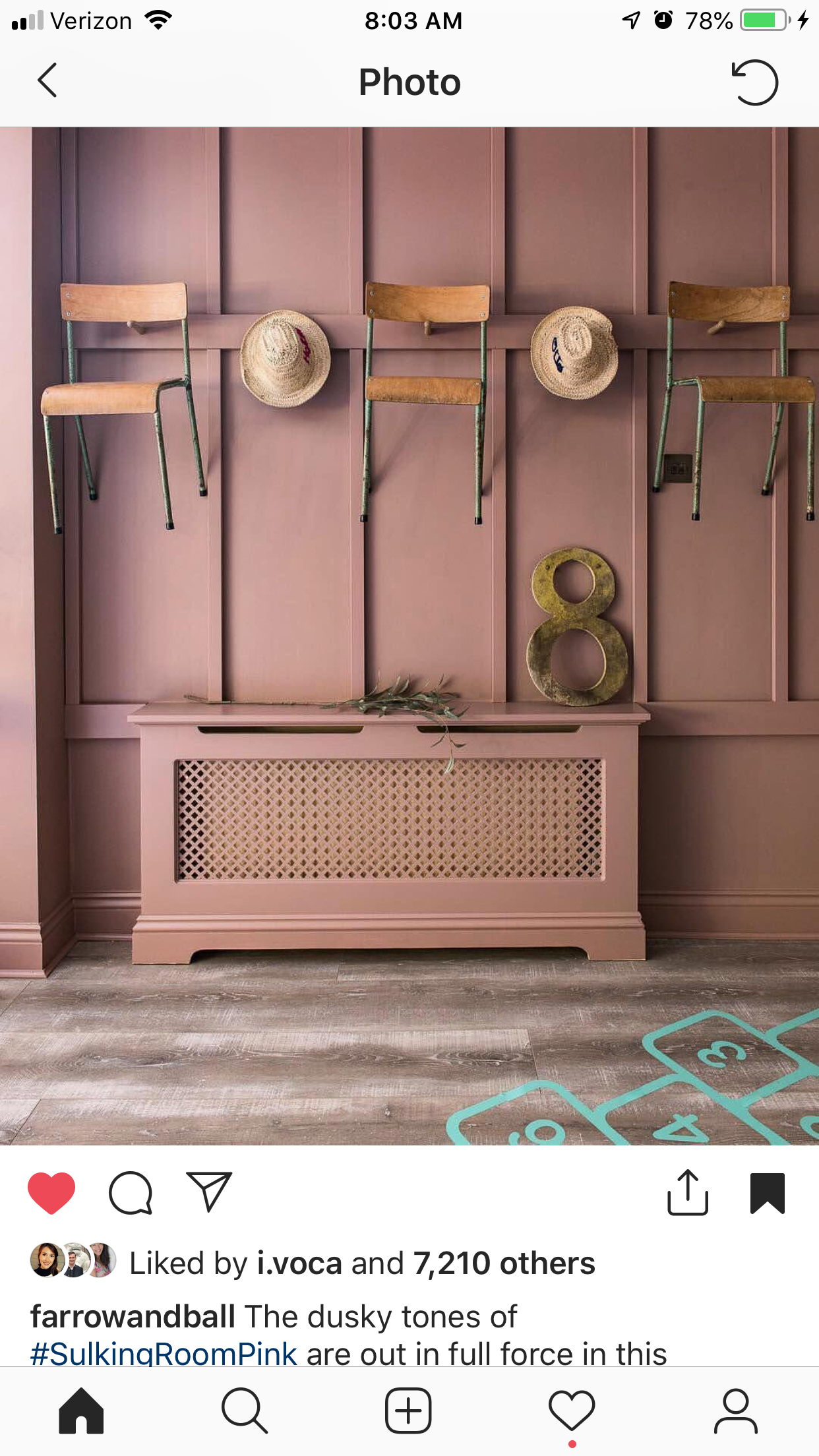 Sulkingroompink With Images Hallway Colours Trending Paint Colors Pink Kitchen Walls