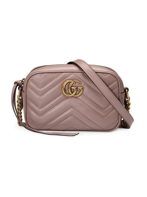 c4828acaf20 GUCCI GG Marmont matelassé mini bag.  gucci  bags  shoulder bags  lining   suede