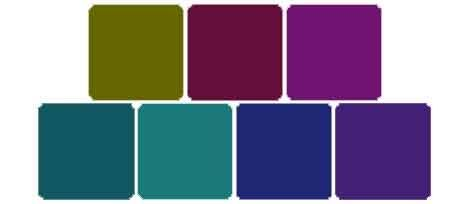 Ok minus that army green i 39 m very much diggin 39 this - Jewel tones color palette ...