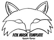 Free Printables Fantastic Mr Fox Fox Mask Fox Mask Template Animal Mask Templates