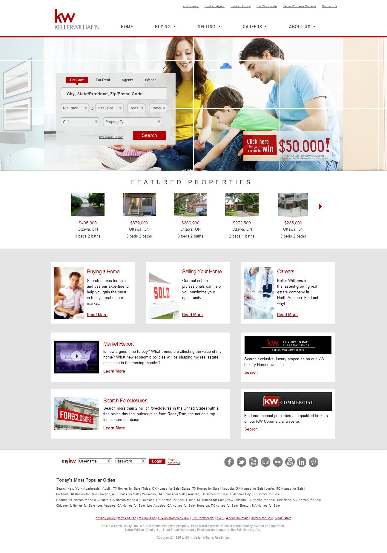 Keller Williams Keller Williams Web Design Real Estate Companies
