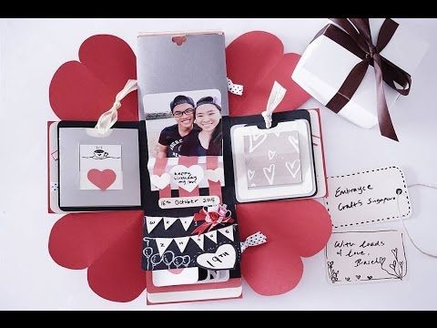 20 Awesome Valentines Gifts For Him Diy Pinterest Exploding
