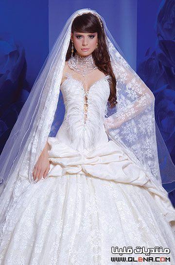 db30e7810 فساتين زفاف ناعمة مره 2013 , فساتين زفاف هاديه للعروس 2013 , فساتين اعرس  2013 -