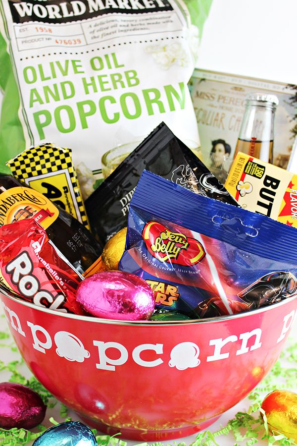 Movie night easter basket idea for teen or young adult via home movie night easter basket idea for teen or young adult via home cooking memories for cost plus world market negle Choice Image