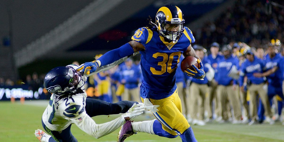 La Rams Vs Seattle Seahawks High Grades In Emphatic Win At Home La Rams Nfl News National Football League