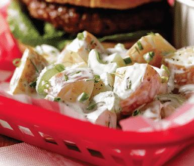 Buttermilk Ranch Potato Salad Potato Goodness Recipe In 2020 Potato Salad Ranch Potato Salad Potatoes
