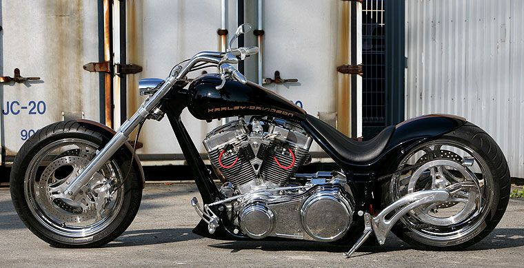 thunder bike from germany full comlete custom bad land. Black Bedroom Furniture Sets. Home Design Ideas