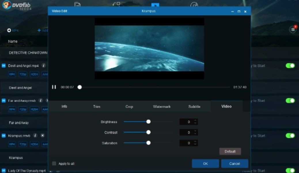 DVDFab DVD ripper software offers a free, 30-day trial so