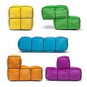 Tetris 3D Cushions   ThinkGeek