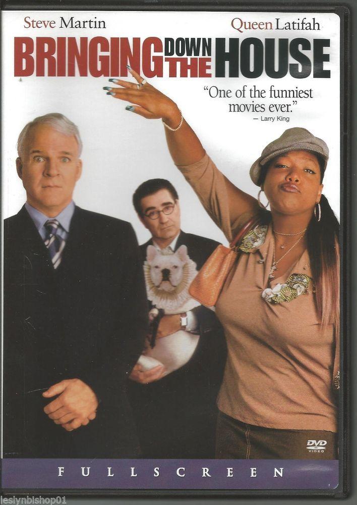 bringing down the house (dvd, 2003, full frame) steve martin, queen