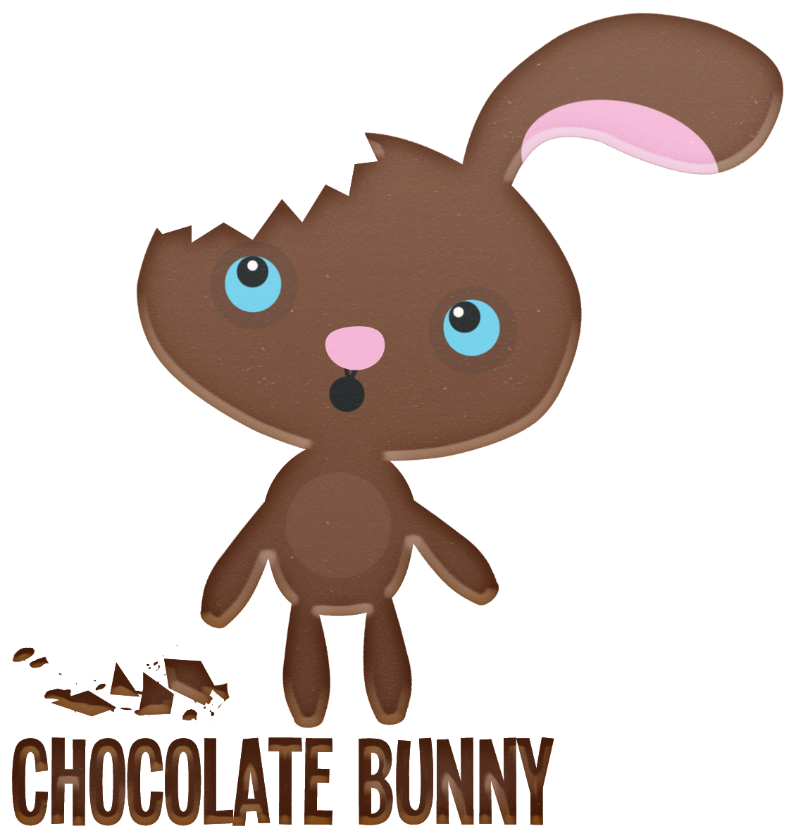 chocolate easter bunny ears missing - Google Search | Bunny ...