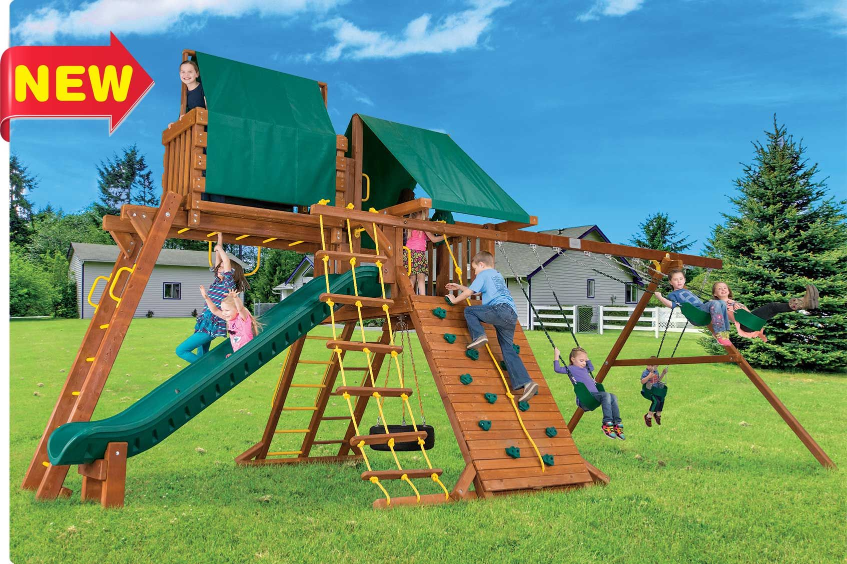 Swing Set Accessories Rainbow Play Systems Swing Set Accessories Swing Set