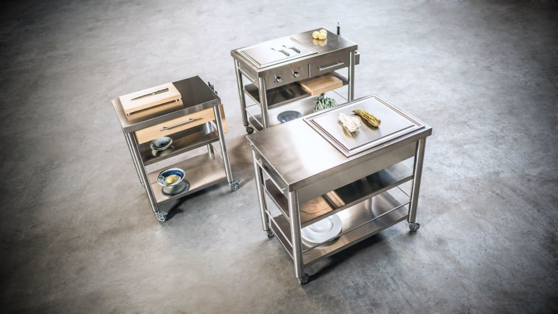 Auxiliu Maison Objet And More The New M O Digital Platform Outdoor Kitchen Outdoor Cooking Station Teppanyaki