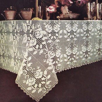 Free Tablecloth Patterns | Free Crochet Patterns | Crochet | Pinterest