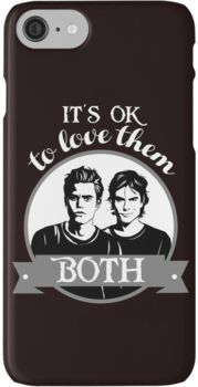 TVD  It's OK to love them both  iPhone 7 Cases | Products in