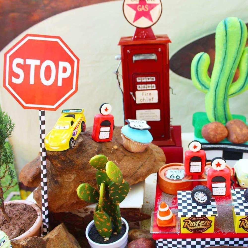 Cars Party Decorations Cars Party Birthday Party Ideas Cars Birthday Parties Birthday