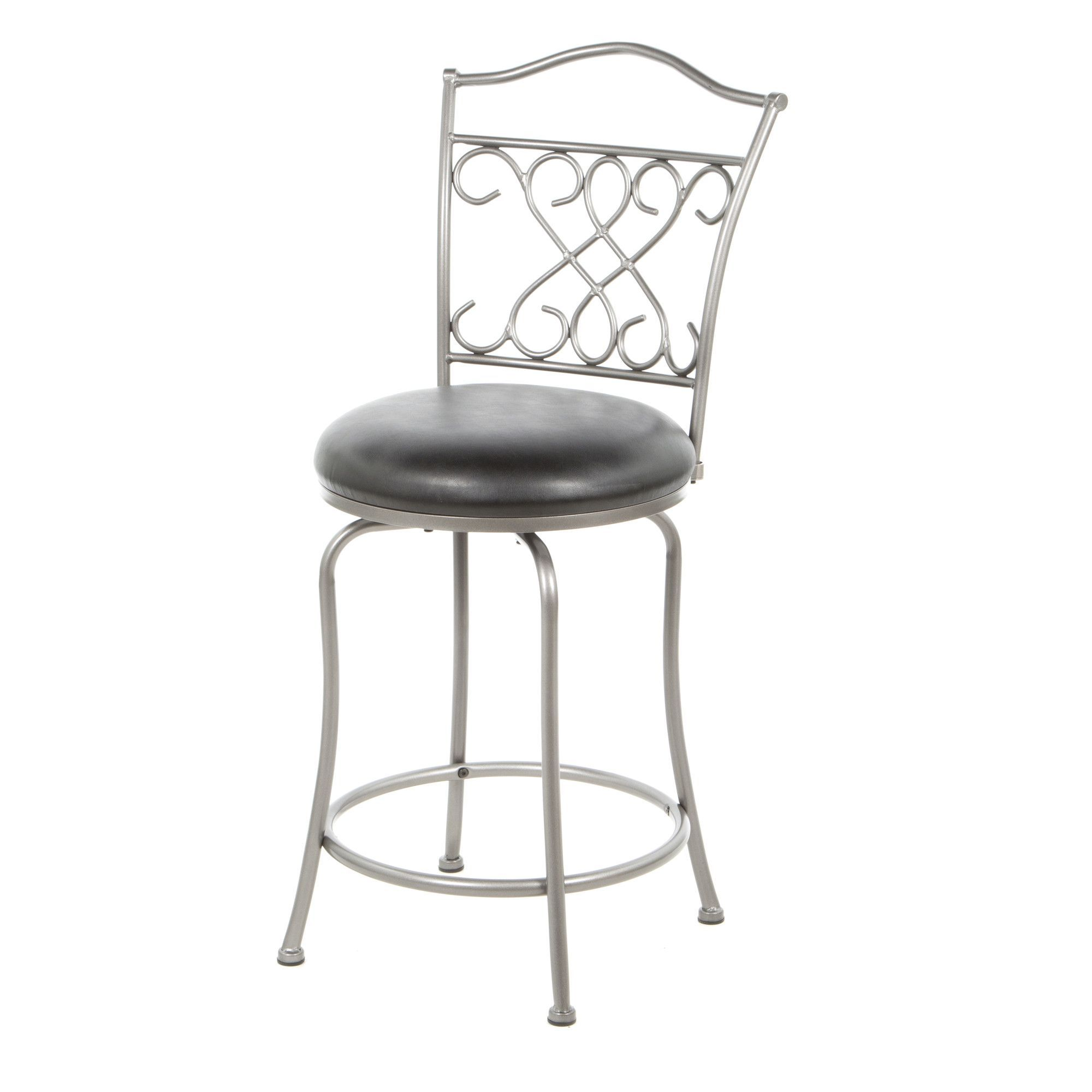 "Wayland 24"" Swivel Bar Stool with Cushion"