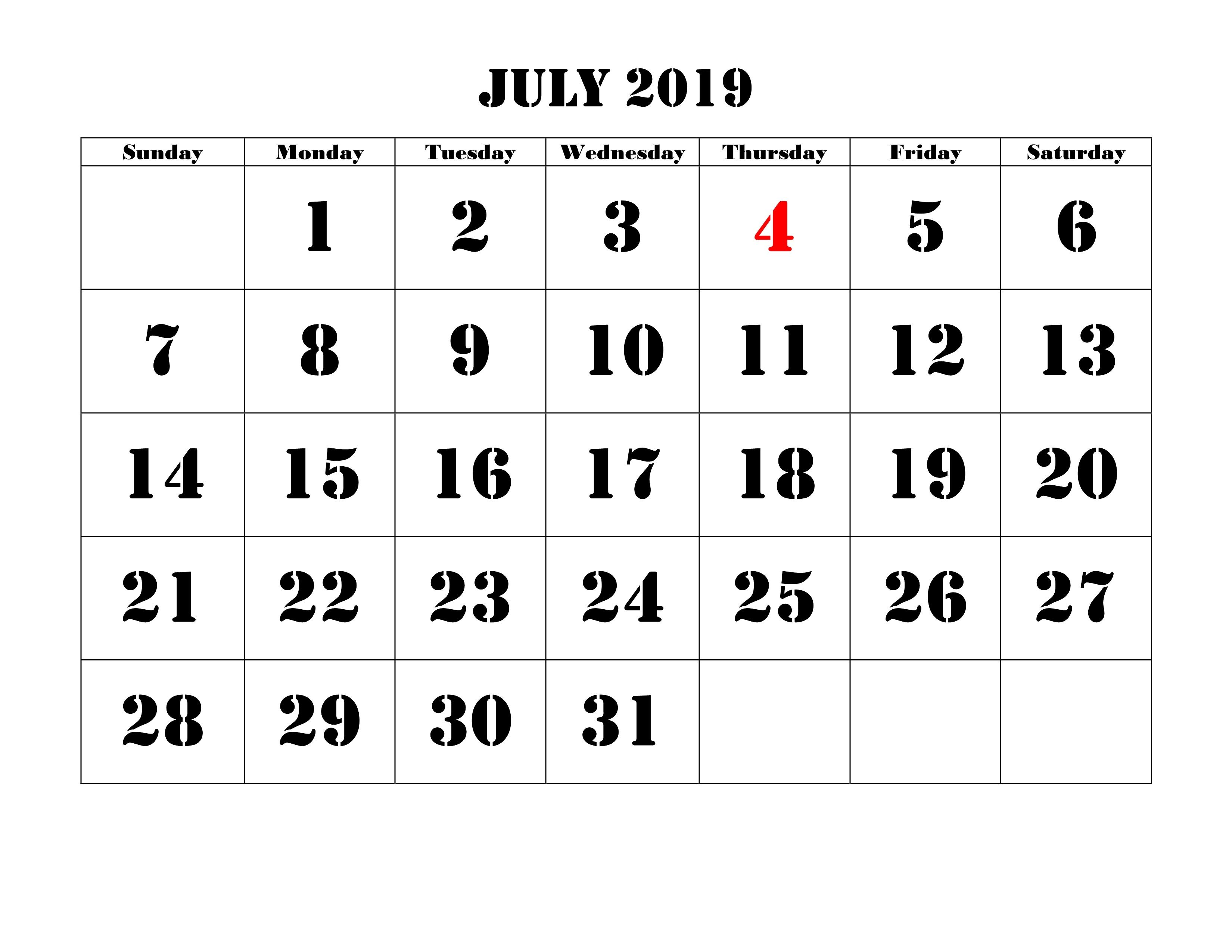 June 2019 Calendar Pdf Word Excel Printable Templates Monthly