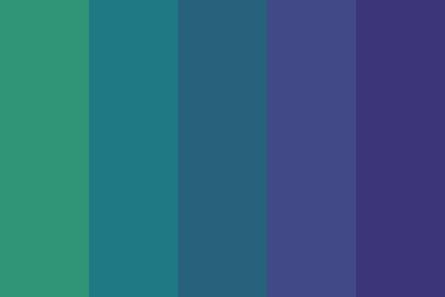 Deep Sea Color Palette Blue Colour Palette Color Palette Sea Colour