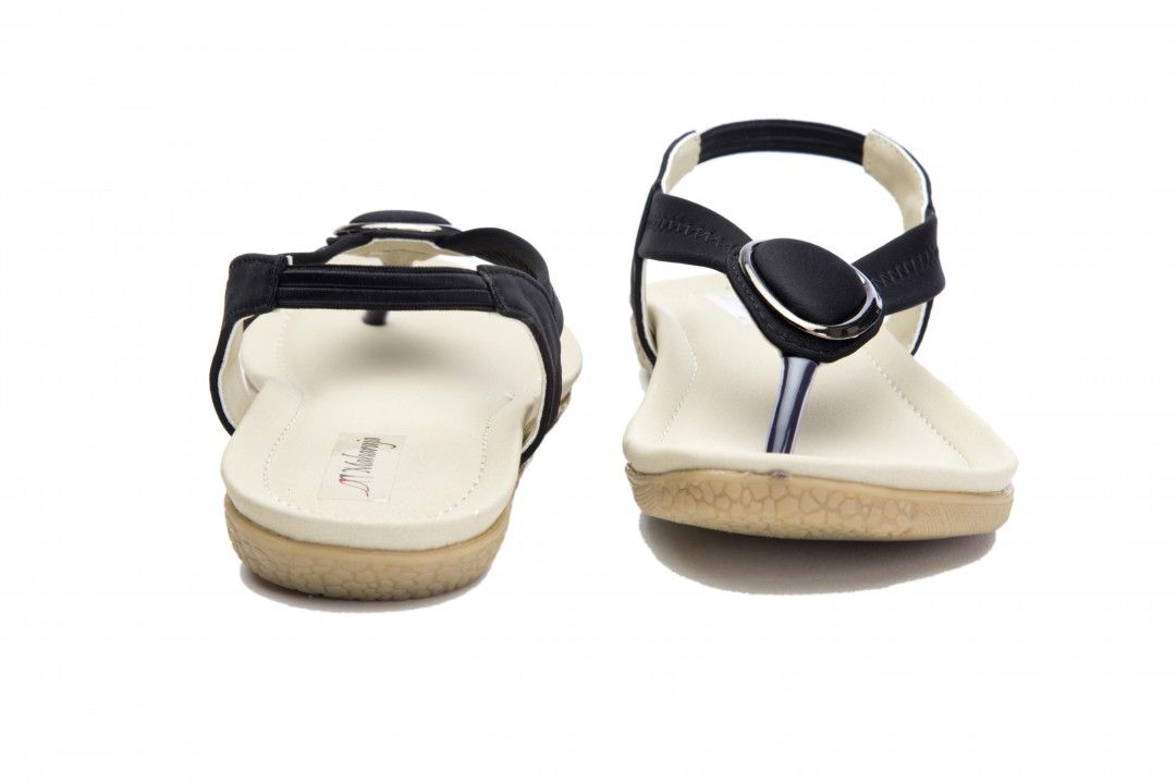 Black Color Designer Sandal for Women - Wear matching Footwear to look superb and trendy with this ultimate pair of Black Color Designer Sandal DRGS646BK for Women, Classy, comfortable and contemporary crafted by skilled workmanship. Crossing over the foot, take a step into a sensuous, stylized, confident and mod way at Click2Door. Click2Door brings to you directional, gorgeous and affordable fashion inspired by the catwalk, street style and celebrities.