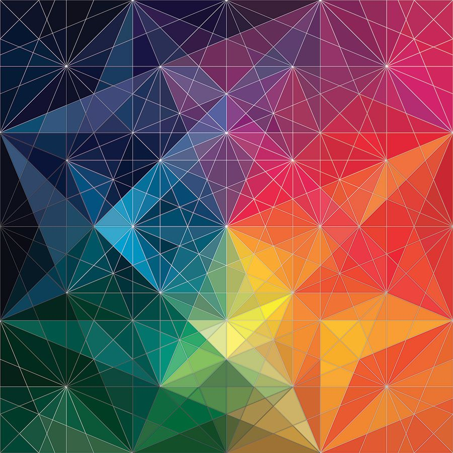 Ibm andy gilmore prints patterns texture - Geometric wallpaper colorful ...