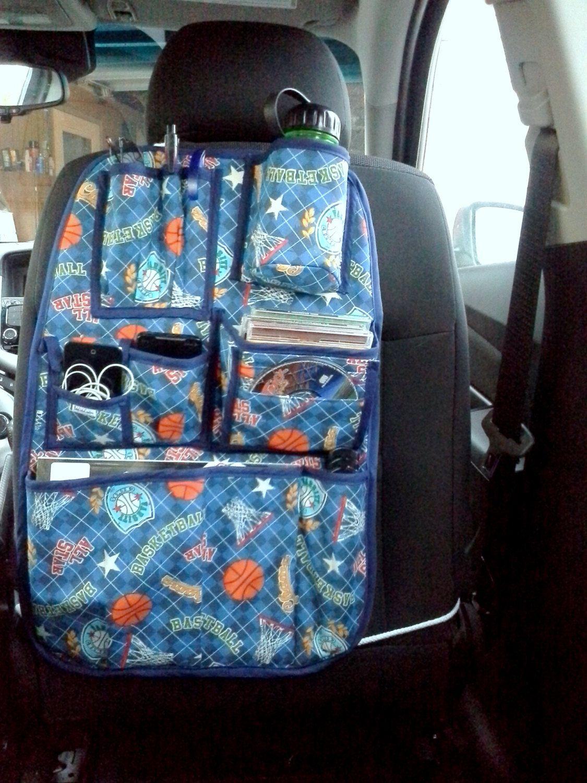 Design Your Own Adolescent Teenage Car Organizer. $45.00, via Etsy.