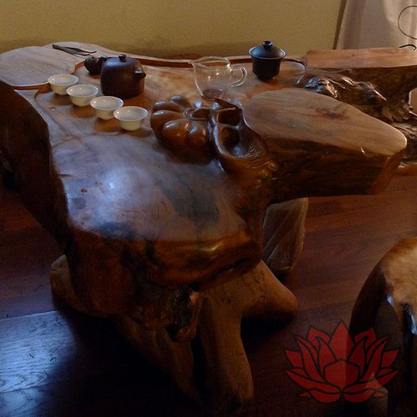 Traditional Tea Table From China For Gong Fu Ceremony