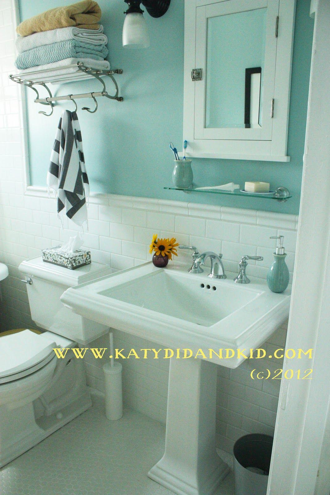 Small Bathroom Remodel Ideas Pos | Katydid And Kid Bathroom Renovation Mission Complete Painted