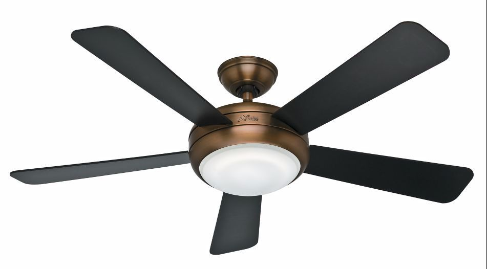 52 Palermo 5 Blade Ceiling Fan With Remote Light Kit Included In 2020 Ceiling Fan Bronze Ceiling Fan Ceiling Fan With Remote