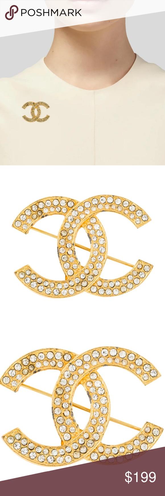 CHANNEL Vintage Logo Pin Vintage logo, Pin logo, Chanel