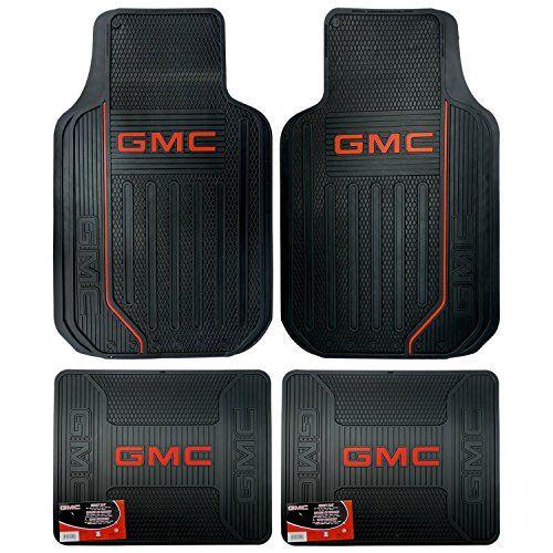Gmc Logo Elite Series Front Rear Car Truck Suv Seat Rubber Floor
