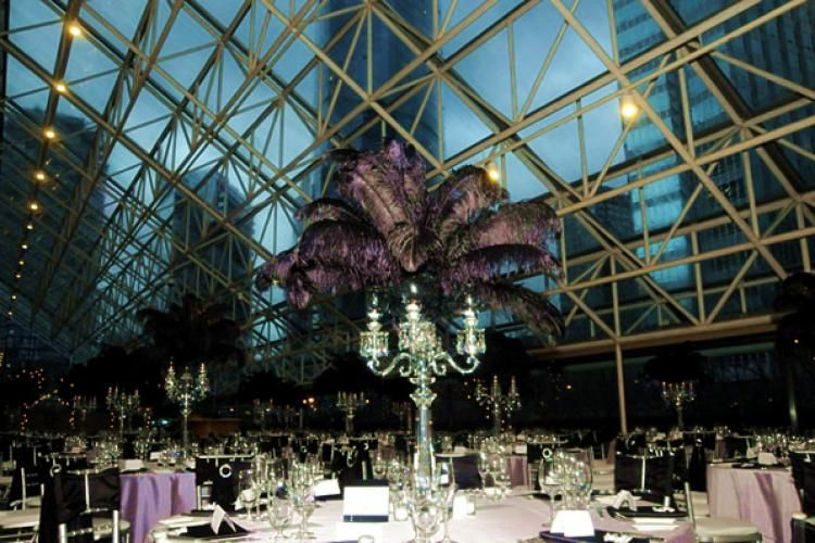 Great Hall Wedding Night View Example