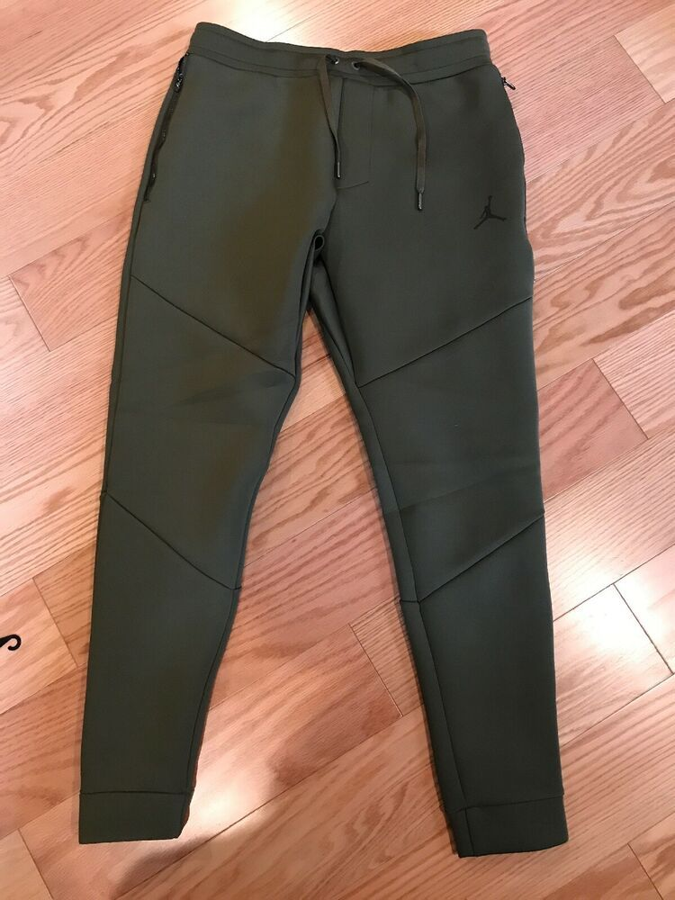 new styles b294e 9f5cc (eBay Sponsored) Nike JORDAN JSW FLIGHT TECH PANTS Size M BNWT Dark Green  MSRP