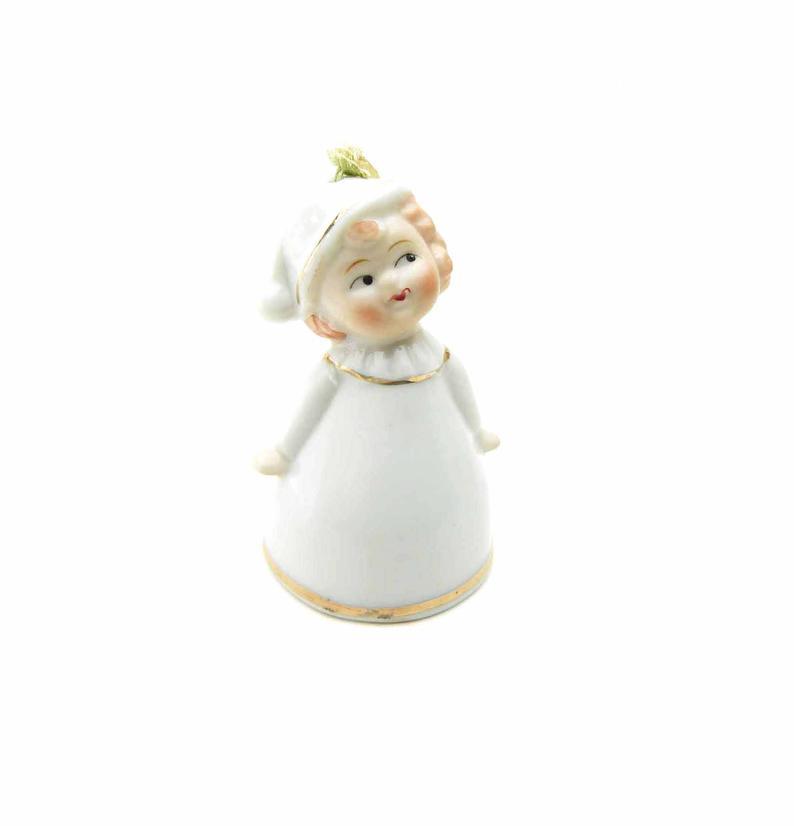 Bedtime Cupie Girl Bell Vintage 1940s Porcelain Figurine | Etsy